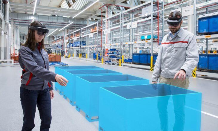 AR Enhances Logistical Planning Efficiency at Audi