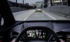 Audi Reveals the Brand New Augmented Reality Display in their QR E-Tron
